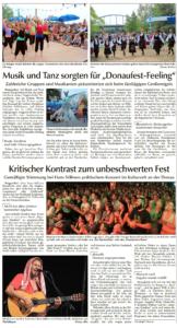 Donau-Anzeiger Abschlussbericht vom 20.07.2015, Seite 2
